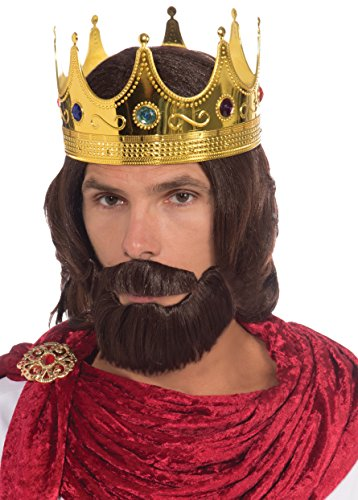 Forum Novelties Men's Royal King Wig Beard and Mustache