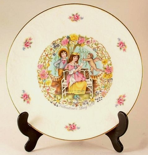 Royal Doulton Valentines Day Plate - Royal Doulton Valentines day plate - 1978 - If I loved you - CP8-CD
