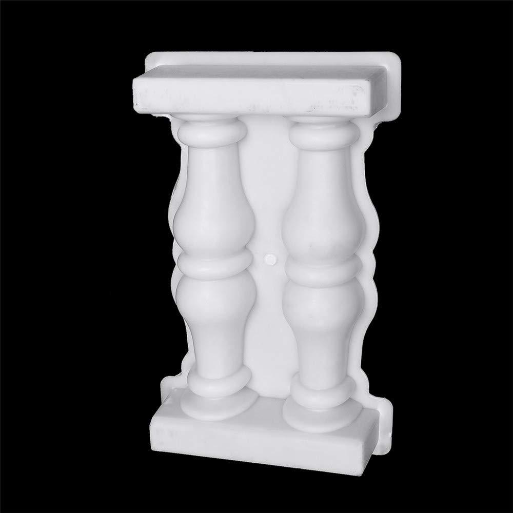 Molde de columna romana SENREAL de plástico para hormigón, bricolaje, manualidades, decoración del hogar o jardín: Amazon.es: Bricolaje y herramientas