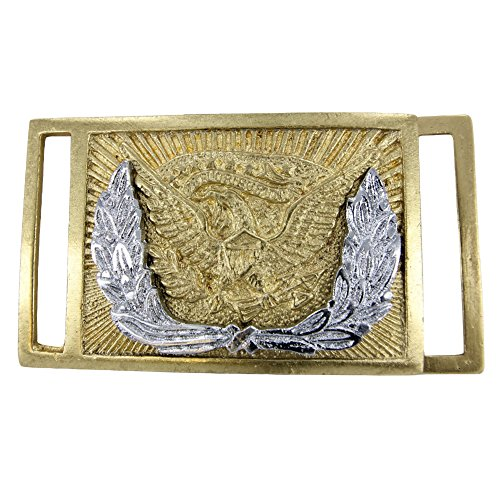 - Union Officers' Civil War Brass Plate Belt Buckle Replica