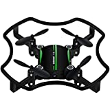 KXN Mini RC Drone (Suit for Experienced Flyer) 2.4Ghz 4CH 6-Axis Gyro Headless Mode One Key Return Quadcopter Good Choice for Kids Adult Drone Training (Green)