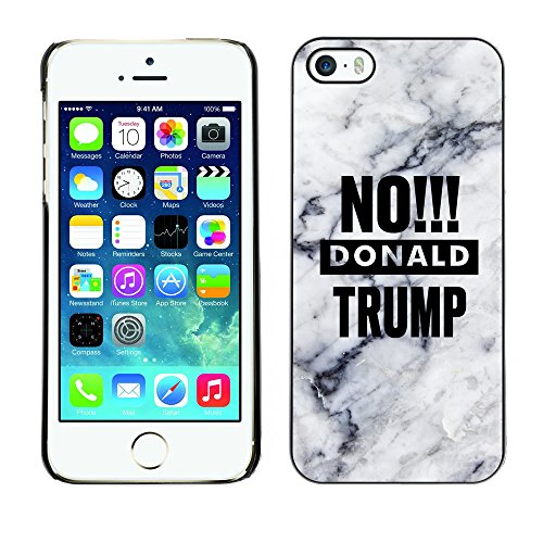 Print Motif Coque de protection Case Cover // Q04170522 Bye bye Trump marbre // Apple iPhone 5 5S 5G