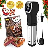 XProject SV-8006 Sous Vide Precision, Immersion Circulator Cooker, Accurate Temperature Control, Touch Screen Display, 1000W, Black