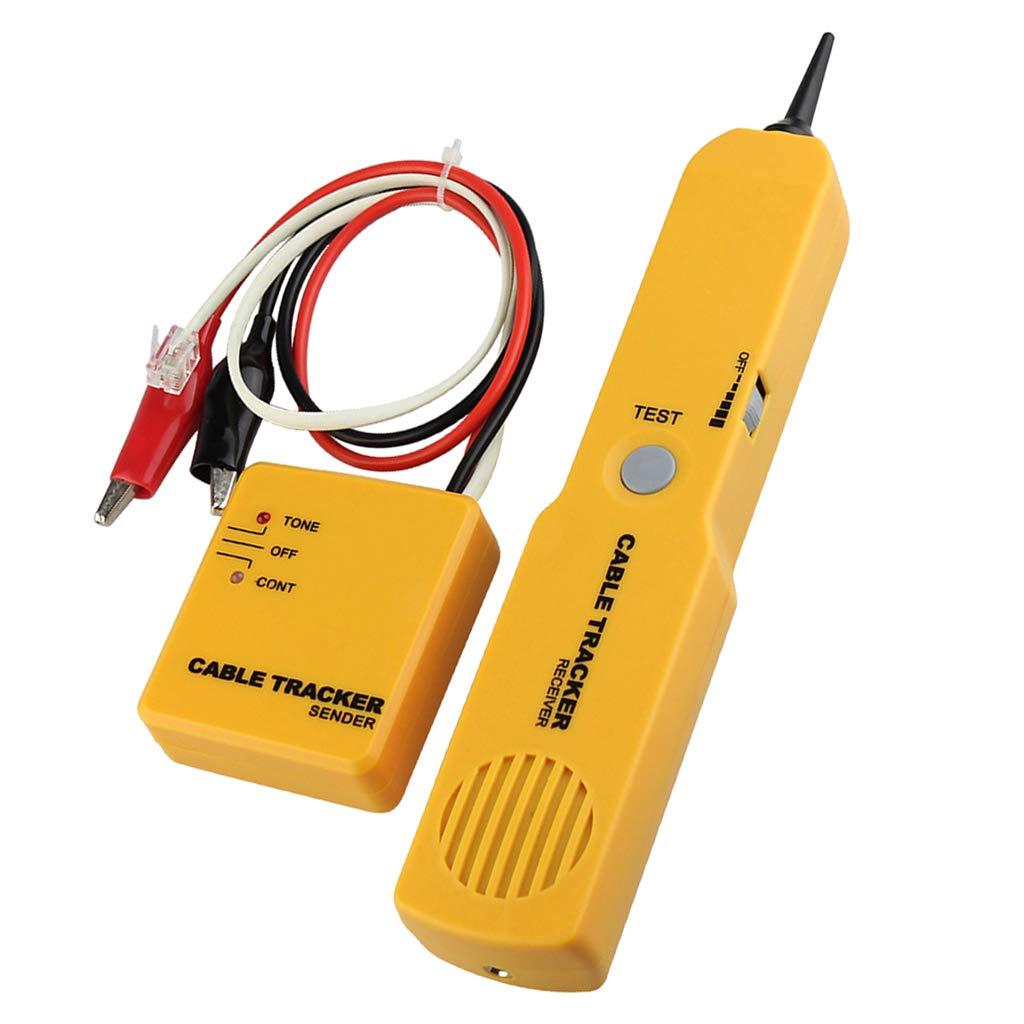 Leitungsdetektor Emitter Baoblaze Wire Kabelfinder Leitungssuchger/ät und Telefonleitungstester f/ür Telefon LAN