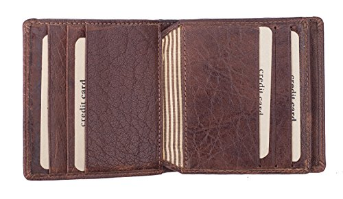 Brown Bank The Wallet Designer Cognac Twenty8 Leather Mens Twenty8 The Pq7188