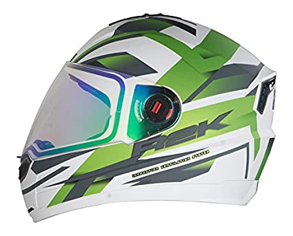 4cff6e46 Steelbird R2K Night Vision Helmet Matt Finish with Day Night Dual ...