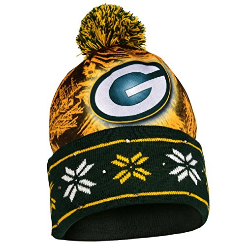 (NFL Green Bay Packers Light Knit Up Hat)