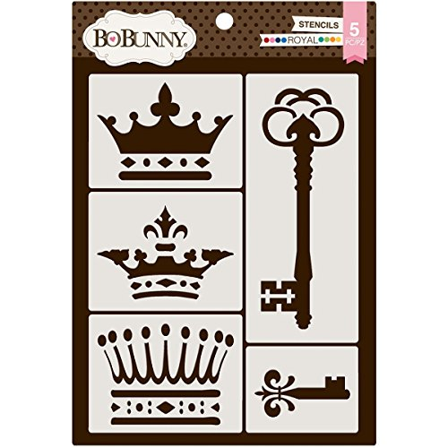 Bo Bunny Essentials Thick Stencils 9.5