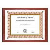 NuDell Award Plaque 13 x 10.5 Inches Mahogany (18813M)