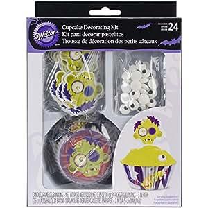 Wilton Moldes Zombie Kit de decoración de tartas para
