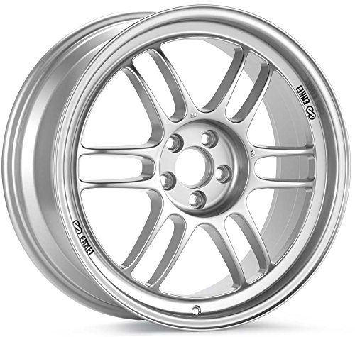 18×9 Enkei RPF1 (F1 Silver) Wheels/Rims 5×112 (3798904435SP)