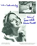 "Autographed ADRIANA CASELOTTI Voice Of Snow White ""SNOW WHITE & THE SEVEN DWARFS"""