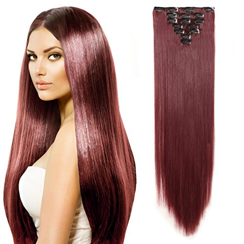 Straight Kanekalon Resistance Extensions Hairpieces product image