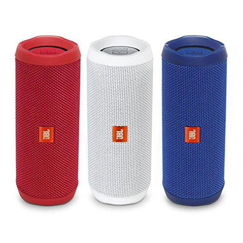 Click to buy JBL Flip 4 Portable Waterproof Bluetooth Speaker Patriotic Pack (Red, White, & Blue) - From only $295