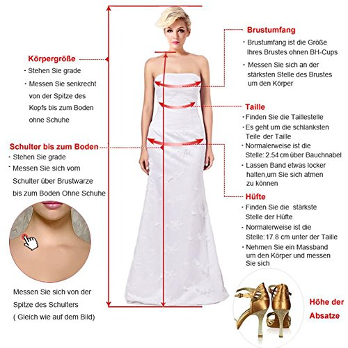 Schleppe aermellos Herzform Partykleid Meerjungfrau Strass Ballkleid Applikation Ivydressing Abendkleid Satin Damen Spitze sexuell Grape Rueckenfrei EnwqnCxS7X