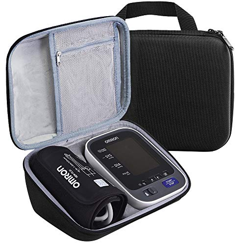 Case Compatible with 10 Series BP785N / BP786 / BP786N Wireless Upper Arm Blood Pressure Monitor, Fits Charger & Cuff (Black)