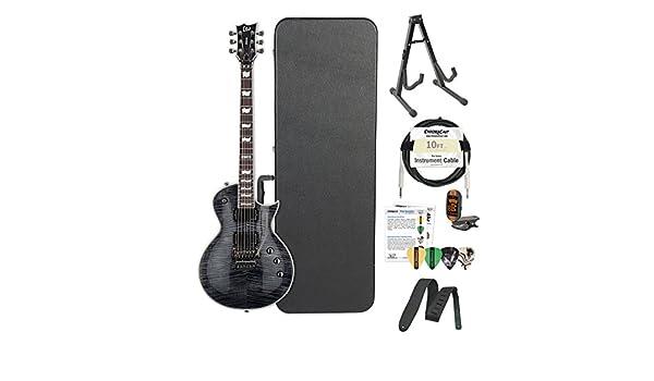 Esp lec1001frstblk-kit02 fr STBLK Metalworks guitarra eléctrica ...