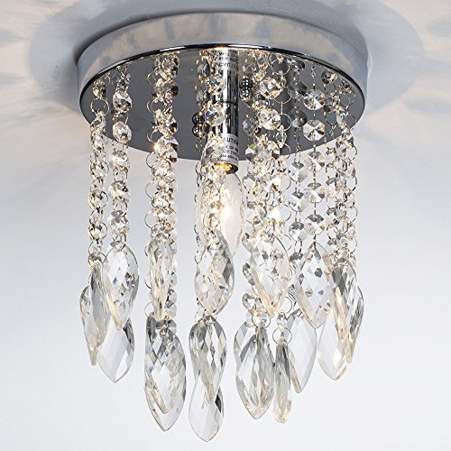 Light 2 Tier Crystal Chandelier - 8