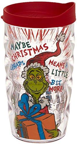 Tervis Dr. Seuss Good Grinch Wrap/Wavy Tumbler, 10-Ounce