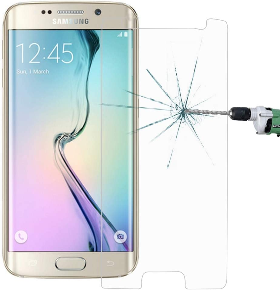 G925 0.26mm 9H Surface Hardness 2.5D Explosion-Proof Non-Full Screen Tempered Glass Film zys ZHANGYUNSHENG 100 PCS for Galaxy S6 Edge