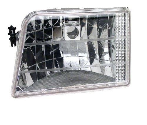 - IPCW CWC-CE18 Crystal Diamond Cut Headlight - Pair