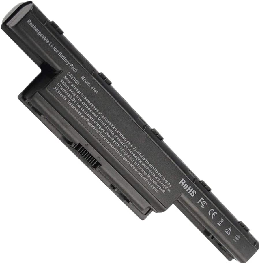 Civhomy Replacement Battery for ACER Gateway NV57H NV50A NE56R NV51B NV75S NE51B NV76R NV52L NV50A NV51B NV55C NV59C NV53 NV53A BT.00605.065 BT.00606.008 BT.00605.062 BT.00604.049 BT.00607.125