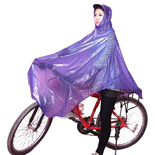 Huixin Moda Transparente Y Bike Aire Rain 2 Al Libre Poncho Impermeable Outdoor Mujeres Dots Jacket Polka UHwqr4xU