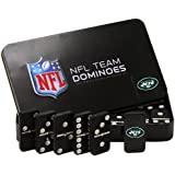 NFL New York Jets Domino Set in Metal Gift Tin