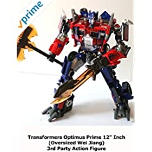 """Review: Transformers Optimus Prime 12"""" Inch (Oversized Wei Jiang) 3rd Party Action Figure"""