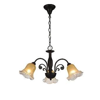 Elegante Florentino colgante luces de metal y cristal ...
