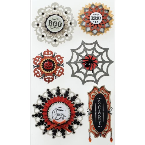 Jolee's Boutique Dimensional Stickers, Large Doily -