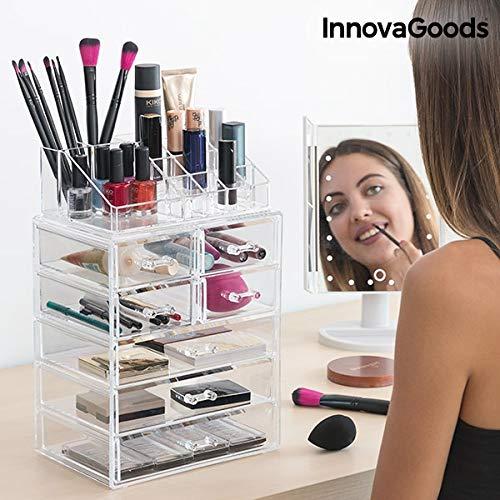InnovaGoods Organizador de Maquillaje Acrílico - 1 Unidad product image