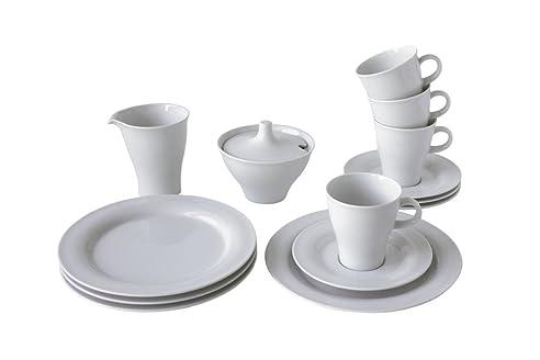Arzberg-Porzellan 9800/00001/3102 Arzberg Move Weiß Kaffeeset, 20
