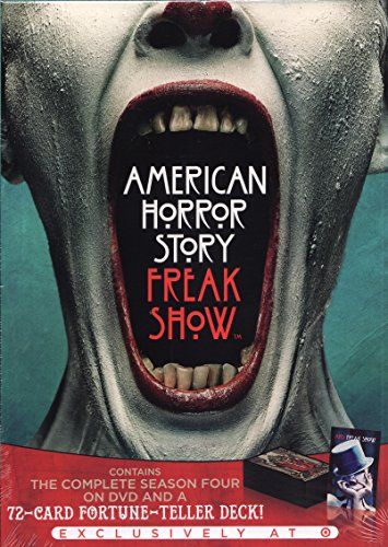 American Horror Story: Freak Show (Target Exclusive With 72 Card Fortune Teller Deck) - Freak Ahs Show