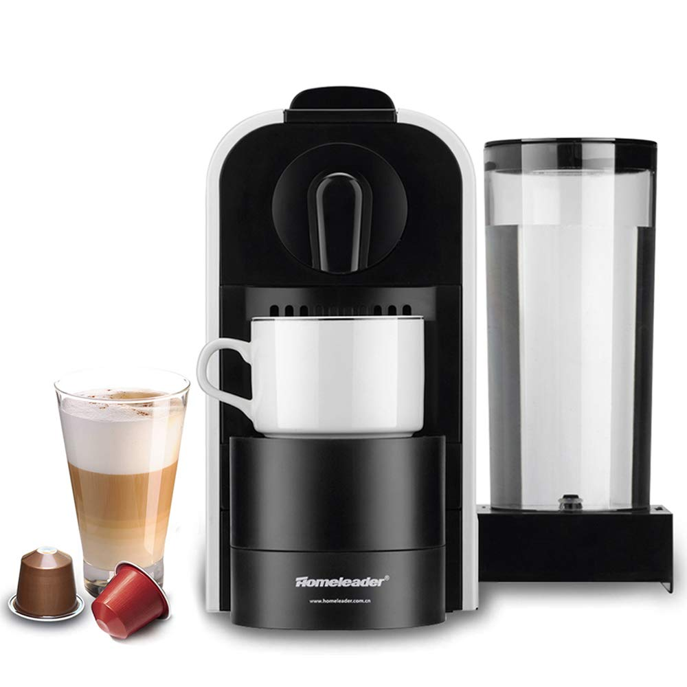 Homeleader Nespresso Machine K04-044, Espresso Machine for Nespresso Capsules, Espresso Maker with 27 OZ Water Tank, 20S Fast Making, 1400W