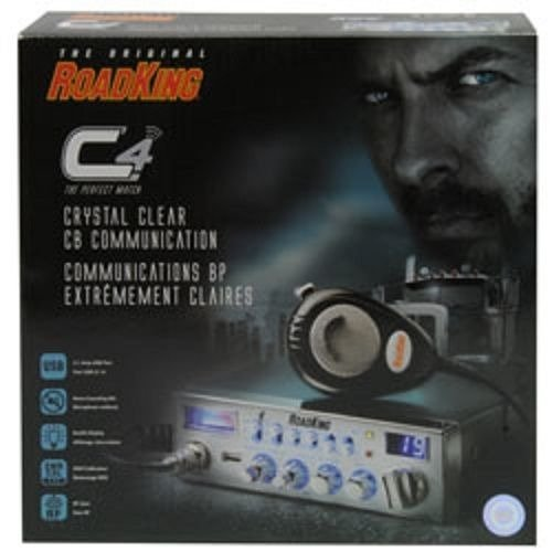 Road King RK5640 CB Radio with USB Charging Port by RoadKing (Image #1)