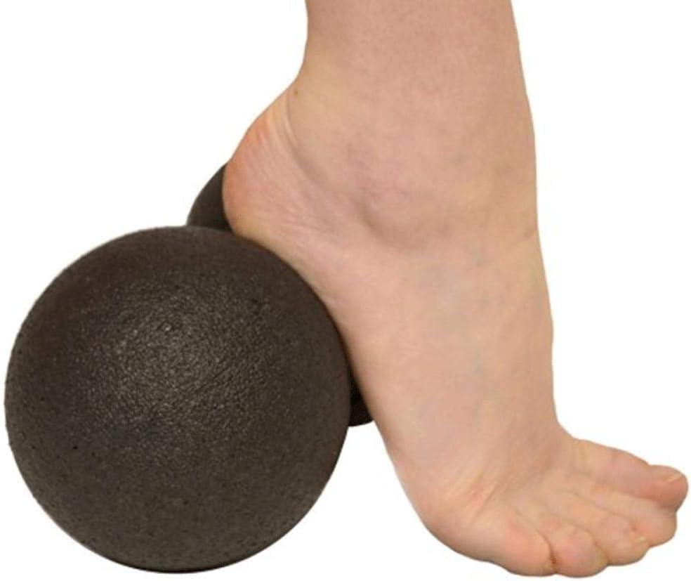 LIANA IRWIN EPP Faszien Ball,8cm 12cm Haushalt twinball blackroll Bequemes Reisen Massage Faszienrolle,R/ücken und Schulter-Nacken und Taillen Rehabilitationstraining Schwarz 8cm