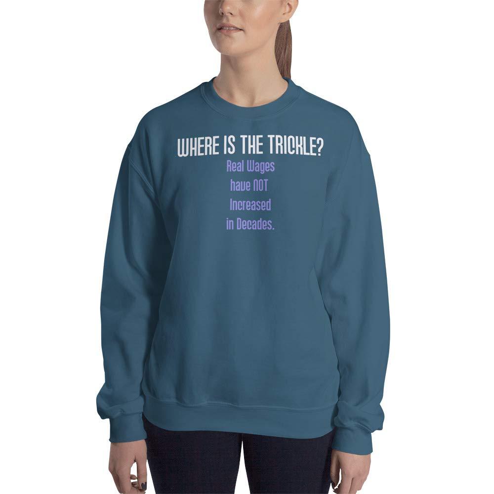 Sweatshirt Indigo Blue STFND Where is The Trickle