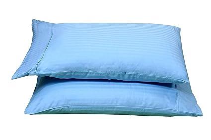 Pillowcases 400 Thread Count 100/% Egyptian Cotton 2Pc Set Silky Soft Pillow