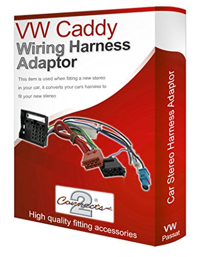 VW Caddy radio stereo wiring harness adapter lead loom: Amazon.co.uk: Electronics