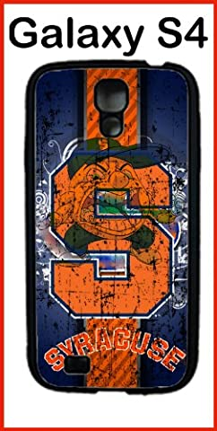 Syracuse University NCAA Syracuse Orange Samsung Galaxy S4 Case Hard Silicone Case (Syracuse Galaxy S4 Phone Case)