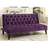 Coaster Home Furnishings Sofa Bed in Purple