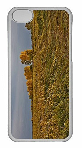 iPhone 5C Case, Personalized Custom Field Fall for iPhone 5C PC Clear Case