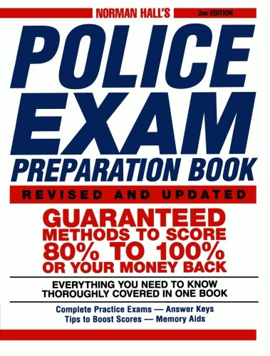 Norman Hall's Police Exam Preparation Book (Stores In Eugene Or)