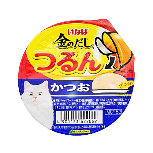 INABA Wet Cat Food Pudding Soft Texture Tuna Flavor(Skipjack)(ุ65g.X4 Pack)