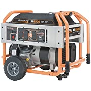 Portable Generator, Rated Watts 6500, 410cc