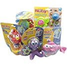 Nuby baby bath 5-Piece Bundle
