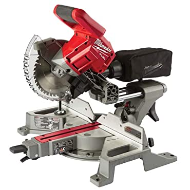 Milwaukee 2733-20 M18 FUEL 7-1 / 4 Dual Bevel Sliding Compound Miter Saw (Tool-Only)