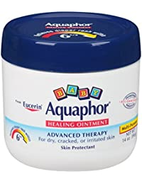 Aquaphor Baby Healing Ointment, Diaper Rash and Dry Skin Protectant, 14 Ounce , Pack of 3 (am7jb8) BOBEBE Online Baby Store From New York to Miami and Los Angeles