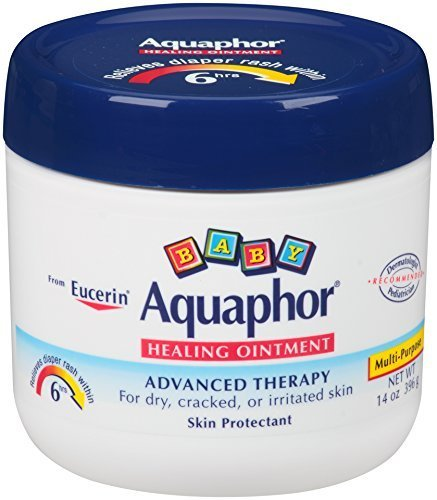 Aquaphor Baby Healing Ointment, Diaper Rash and Dry Skin Protectant, 14 Ounce , Pack of 3 (am7jb8) by Aquaphor by Aquaphor